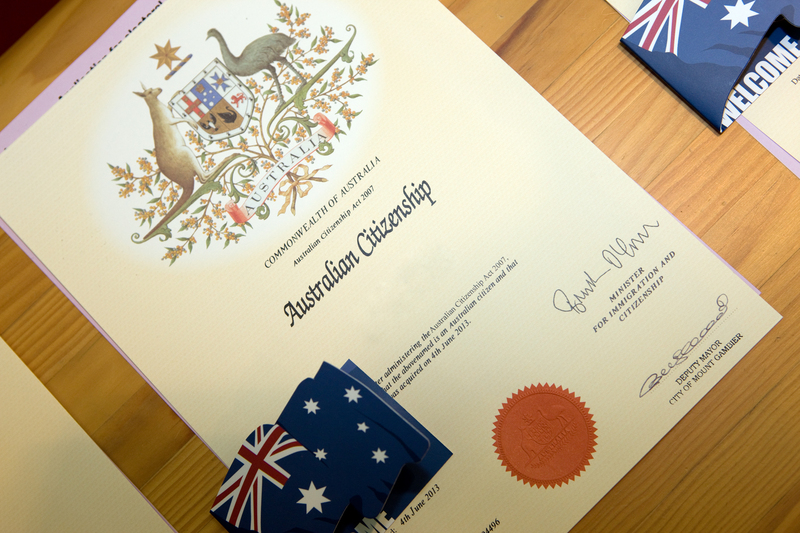 australia citizenship certificate