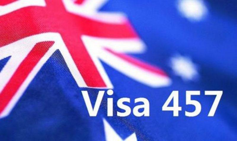 visa subclass 457