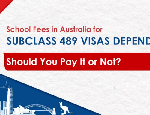 School Fees in Australia for Subclass 489 Visas Dependents – Should You Pay It or Not?