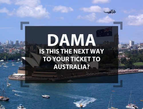 DAMA – Is This the Next Way to Your Ticket to Australia?