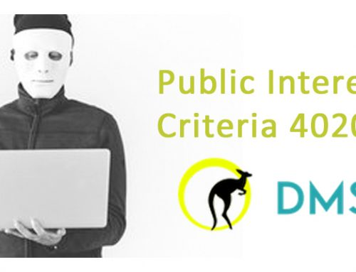Public Interest Criteria 4020 – What is it and How Important is it?