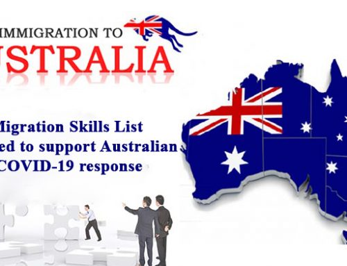 Priority Migration Skills List updated to support Australian COVID-19 response