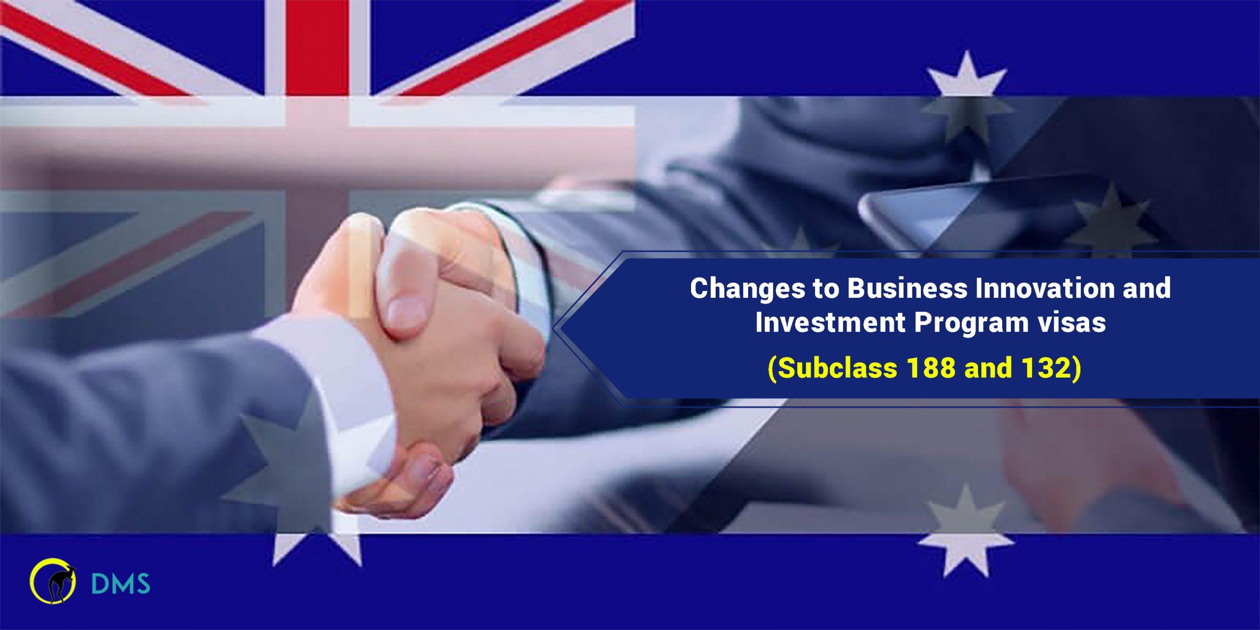 Australia Business & Investment Visa 2021