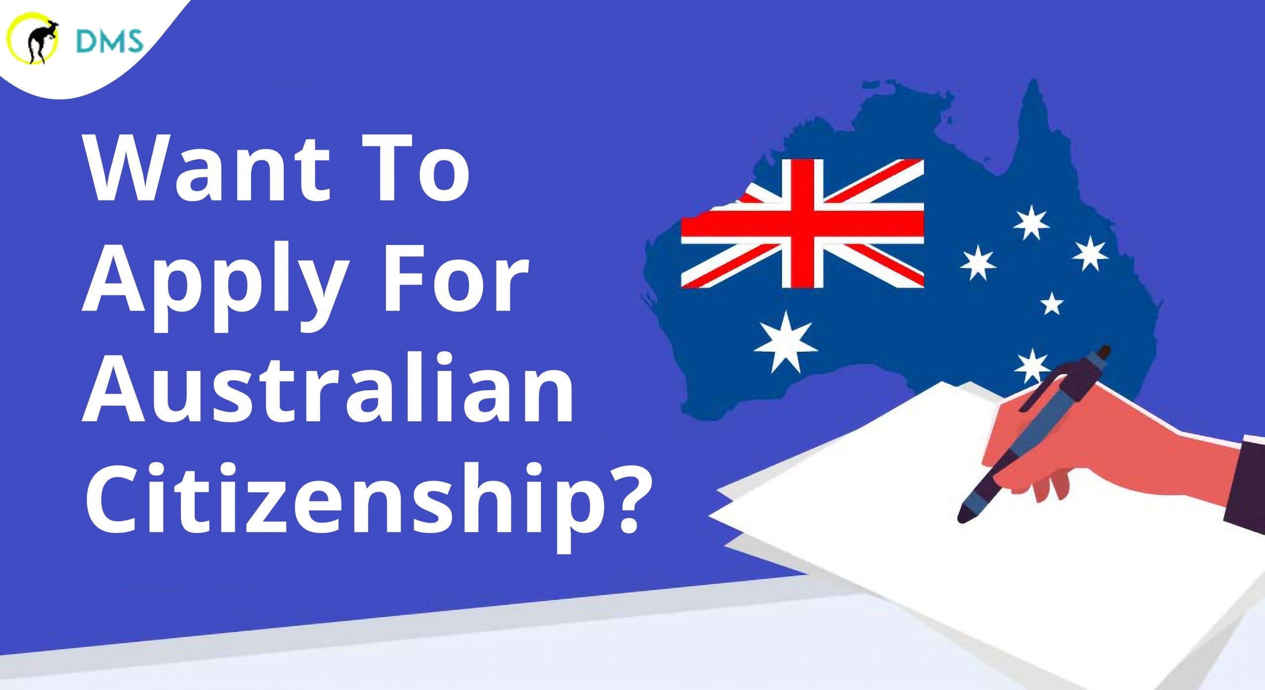 Australia Citizenship from DMS Migration