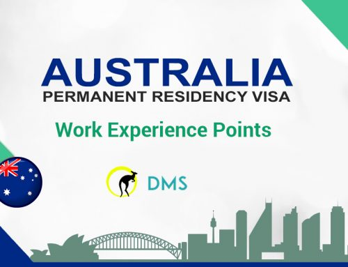 WORK EXPERIENCE POINTS CLAIM FOR PR VISAS
