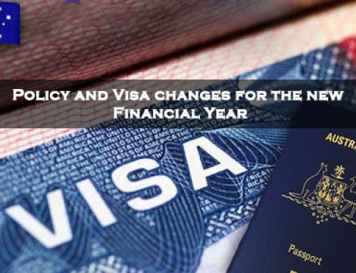 Policy and Visa changes for the new Financial Year 2021-2022