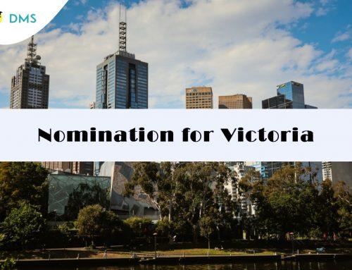 Nomination for Victoria
