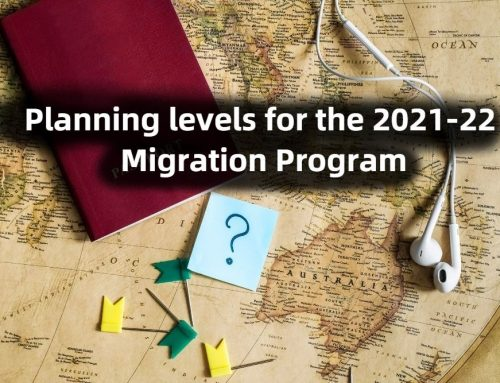 Planning levels for the 2021-22 Migration Program