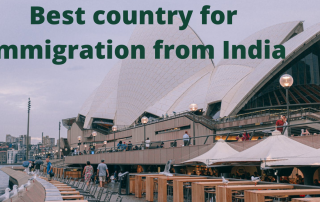 If you want to move abroad, immigrate from India you can't just pack up First, you need to search for countries that are open to immigrants